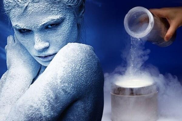 Как проводится процедура омоложения холодом