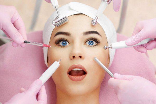 Чистка кожи у косметолога